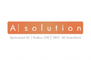 Logo en huisstijl voor A | Solution
