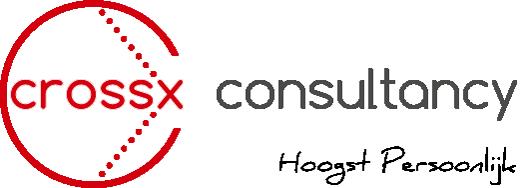 Reclame en concept  en drukwerk ontwikkeling | Crossx.nl logo
